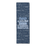 My Father My Hero Runner Rug - 3.66'x8' (Personalized)