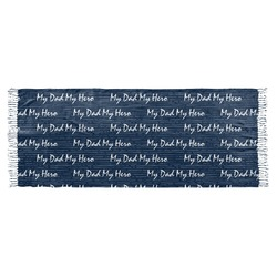 My Father My Hero Faux Pashmina Scarf (Personalized)