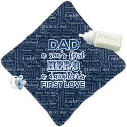 My Father My Hero Security Blanket (Personalized)
