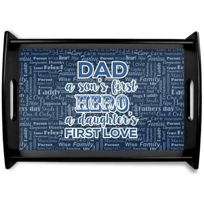 My Father My Hero Wooden Trays (Personalized)