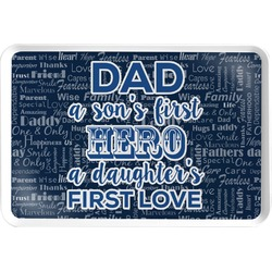 My Father My Hero Serving Tray (Personalized)