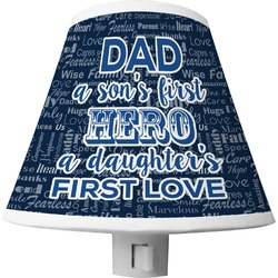 My Father My Hero Shade Night Light (Personalized)
