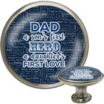 My Father My Hero Cabinet Knobs (Personalized)