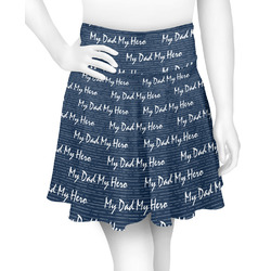 My Father My Hero Skater Skirt (Personalized)