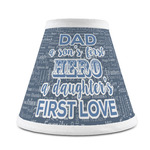 My Father My Hero Chandelier Lamp Shade (Personalized)
