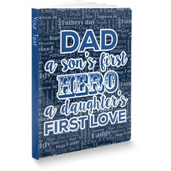 My Father My Hero Softbound Notebook (Personalized)