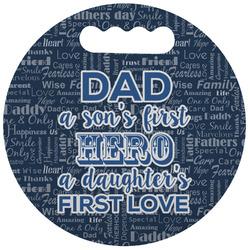 My Father My Hero Stadium Cushion (Round) (Personalized)