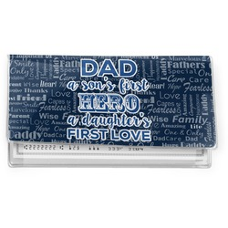 My Father My Hero Vinyl Checkbook Cover (Personalized)
