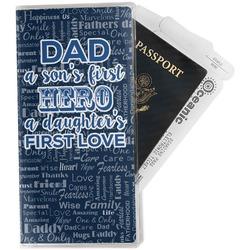 My Father My Hero Travel Document Holder