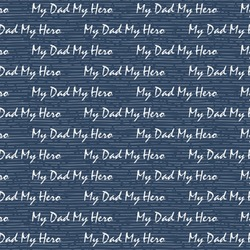 My Father My Hero Wrapping Paper (Personalized)