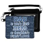 My Father My Hero Wristlet ID Case