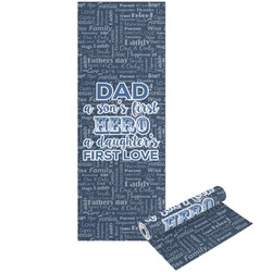 My Father My Hero Yoga Mat - Printable Front and Back (Personalized)