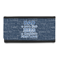 My Father My Hero Leatherette Ladies Wallet (Personalized)