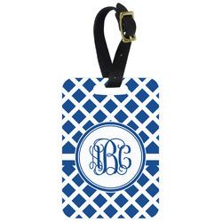 Diamond Aluminum Luggage Tag (Personalized)