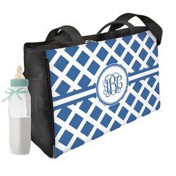 Diamond Diaper Bag (Personalized)