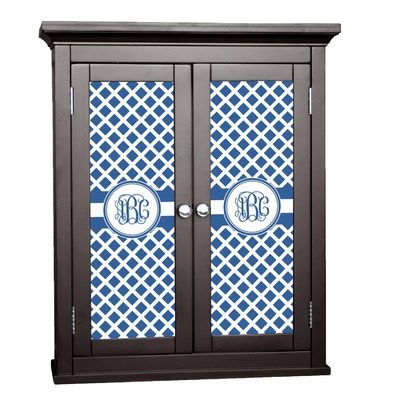 Diamond Cabinet Decal - Small (Personalized)