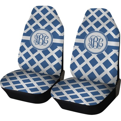 Diamond Car Seat Covers (Set of Two) (Personalized)