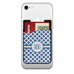 Diamond 2-in-1 Cell Phone Credit Card Holder & Screen Cleaner (Personalized)