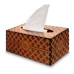 Diamond Wooden Tissue Box Cover - Rectangle (Personalized)