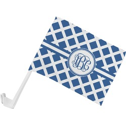 Diamond Car Flag (Personalized)