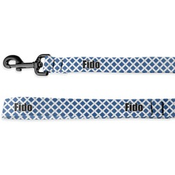 Diamond Deluxe Dog Leash - 4 ft (Personalized)