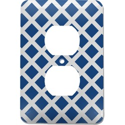 Diamond Electric Outlet Plate (Personalized)