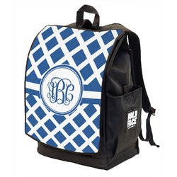 Diamond Backpack w/ Front Flap  (Personalized)