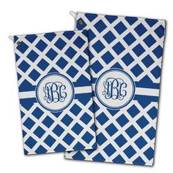 Diamond Golf Towel - Full Print w/ Monogram