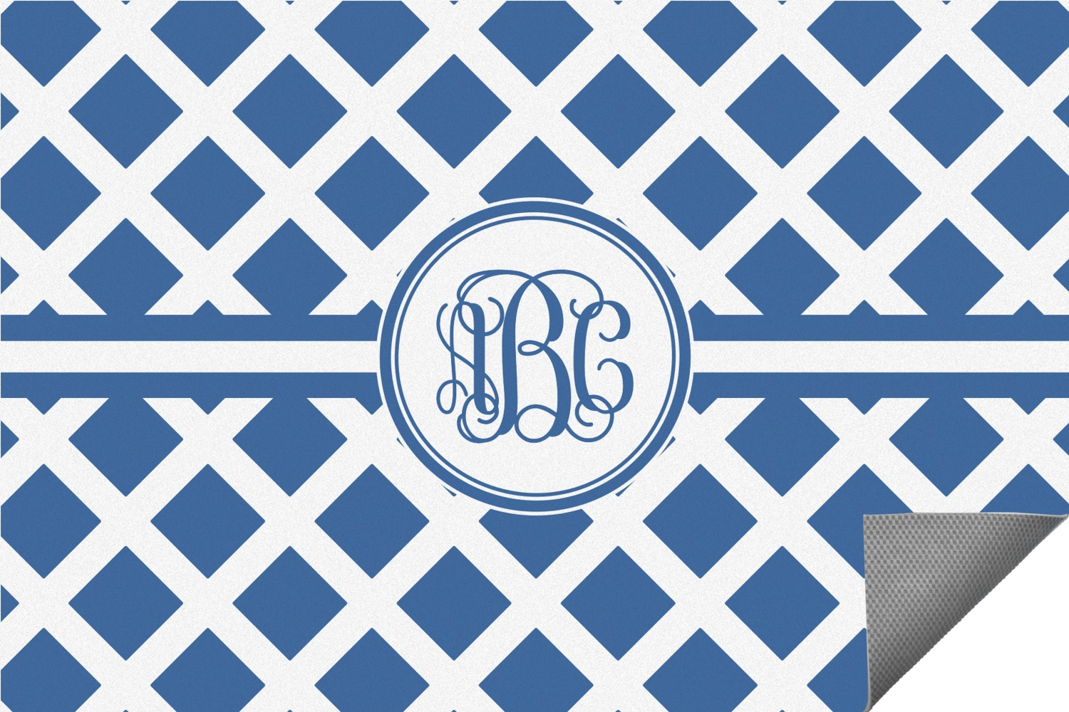 Monogram Outdoor Rug Indoor 4 X6