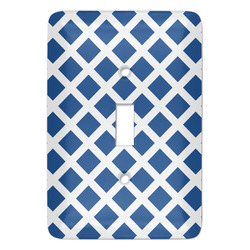 Diamond Light Switch Covers - Multiple Toggle Options Available (Personalized)