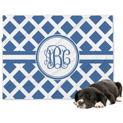 Diamond Minky Dog Blanket (Personalized)