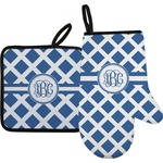 Diamond Oven Mitt & Pot Holder (Personalized)