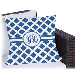 """Diamond Outdoor Pillow - 18"""" (Personalized)"""