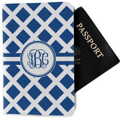 Diamond Passport Holder - Fabric (Personalized)