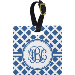 Diamond Square Luggage Tag (Personalized)