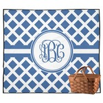 Diamond Outdoor Picnic Blanket (Personalized)
