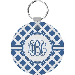 Diamond Round Keychain (Personalized)