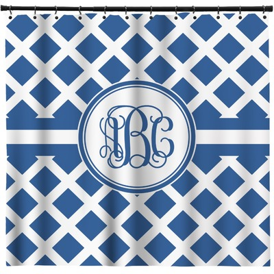 Diamond Shower Curtain (Personalized)