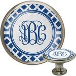 Diamond Cabinet Knob (Silver) (Personalized)