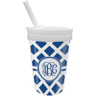 Diamond Sippy Cup with Straw (Personalized)