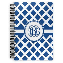 Diamond Spiral Bound Notebook (Personalized)