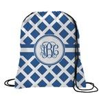 Diamond Drawstring Backpack (Personalized)