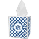 Diamond Tissue Box Cover (Personalized)