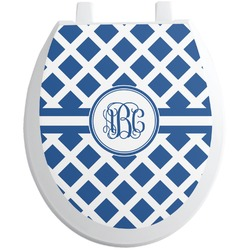 Diamond Toilet Seat Decal (Personalized)