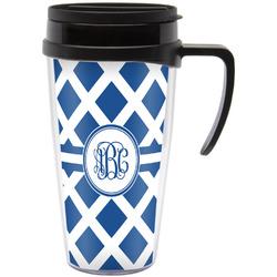 Diamond Travel Mug with Handle (Personalized)