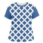 Diamond Women's Crew T-Shirt (Personalized)