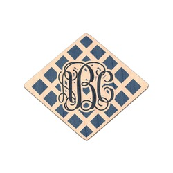Diamond Genuine Wood Sticker (Personalized)