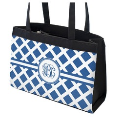 Diamond Zippered Everyday Tote (Personalized)
