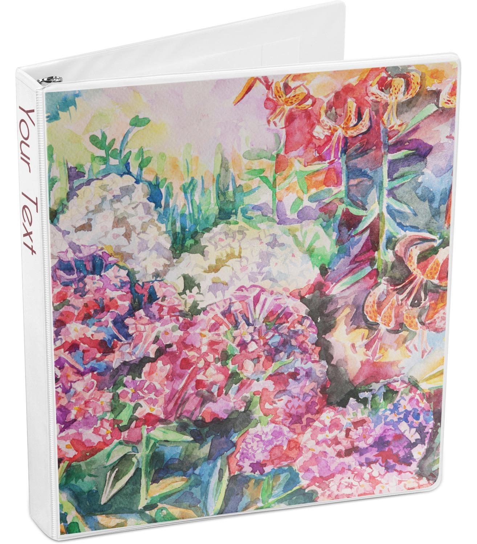 Watercolor Floral 3-Ring Binder