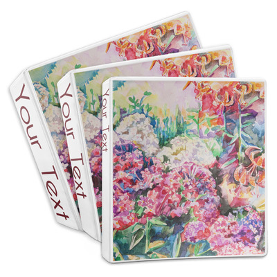 Watercolor Floral 3-Ring Binder